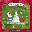 Hallmark Ornament ~ Frosty Friends 2001 ~ Frosty Friends series