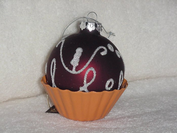 Chocolate Candy ~ Blown Glass Ornament