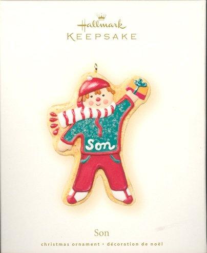 Hallmark Ornament ~ Son 2007 ~ Gingerbread Cookie