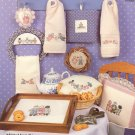 Sarah Jane's Tea Party by Joan Vibert ~ Cross-Stitch Chart 1986