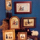 The Amish VI Friendship ~ Cross-Stitch Chart 1986