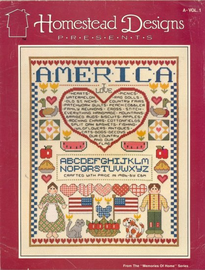Memories of Home ~ Cross-Stitch Chart 1986