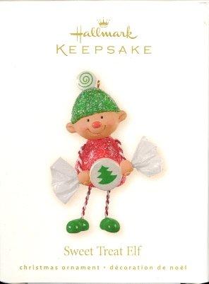 Hallmark Ornament ~ Sweet Treat Elf 2008