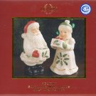 Lenox Holiday Santa and Mrs. Claus Salt and Pepper