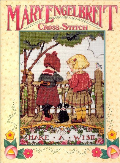 Mary Engelbreit ~ Cross-stitch Book 1997