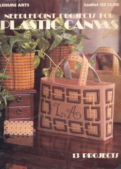 Needlepoint Projects for Plastic Canvas Booklet 1978