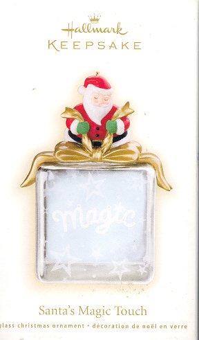 Hallmark Ornament ~ Santa's Magic Touch 2009