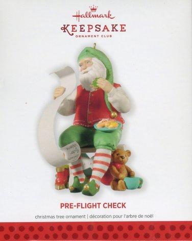 Hallmark Ornament ~ Pre-Flight Check 2013 ~ Member Only Exclusive