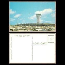 Robert Mueller Airport, Austin Texas, PC, 1950's Cars