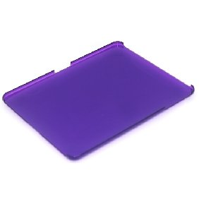 Purple Hard Case Skin Cover For Apple iPad