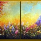 Modern Abstract Huge Canvas Oil Painting Frameless OIL0098