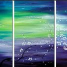 Modern Abstract Huge Canvas Oil Painting Frameless OIL0111