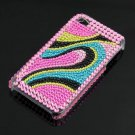 Rhinestone Bling HARD BACK CASE Cover for Apple iPhone 4G 4 New