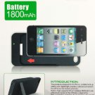 Emergency Portable Backup Battery Charger Pack W/USB Cable For Apple iPhone 4 4S