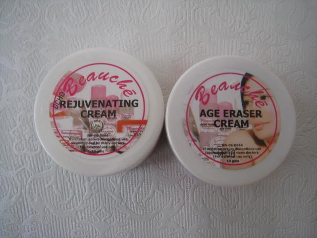 Beauche Rejuvenating Cream + Age Eraser Cream/Sunblock (10grms)