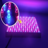 "LED Grow Light ""Red Dawn"" - Super Harvest Colors Red and Blue, 225 LEDs, 14W"