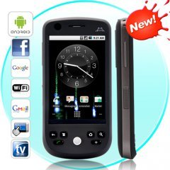 Eclipse Novus - Dual SIM Android 2.2 Smartphone with Capacitive Touchscreen (Black)