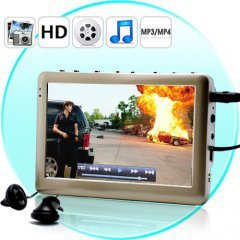 iMedia HD MP4 Player with 4.3 Inch Screen - Silver