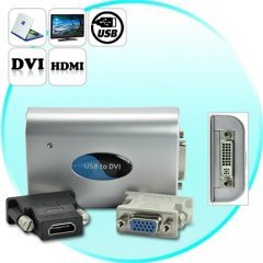 PC to TV Converter - Use Your HDTV as a Computer Monitor