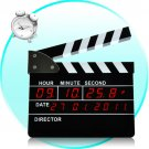 Clapperboard Digital Alarm Clock (Directors Edition)