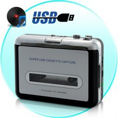 USB Cassette Player and Tape-to-MP3 Converters