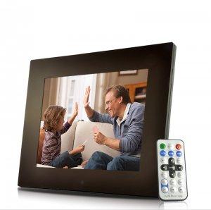 12 Inch Digital Photo Frame w/ Remote + Media Player