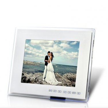 "12 Inch Digital Photo Frame ""Masterpiece"" - Media Player, Remote Control"