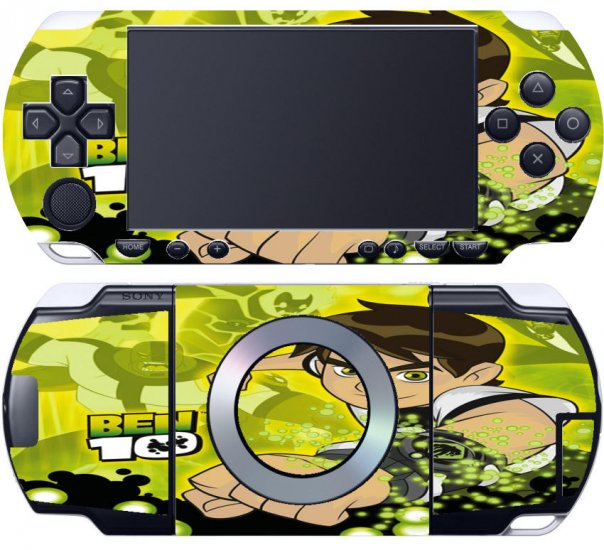 Playstation Portable PSP 1 Skin ben10 a