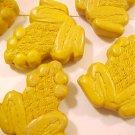 Frog Cinnabar Style Mustard Yellow Bead