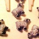 Sheep 5 Teeney Porcelain Beads