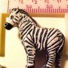 Zebra 3 Clay Beads