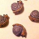 Snail Teeney 4 Clay Beads