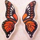 Butterfly Monarch Porcelain Wings Beads