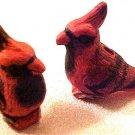 Bird Cardinal 3 Pottery Beads