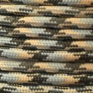 PARACORD 550 LB PARACHUTE CORD MIL SPEC TYPE III **WITH FREE BUCKLES* (ACU, 100FT)
