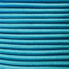 PARACORD 550 LB PARACHUTE CORD MIL SPEC TYPE III **WITH FREE BUCKLES* (CAROLINA BLUE,100FT)