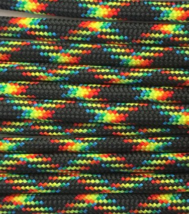 PARACORD 550 LB PARACHUTE CORD MIL SPEC TYPE III **WITH FREE BUCKLES* (GALAXY 100FT)