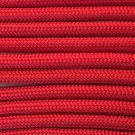 PARACORD 550 LB PARACHUTE CORD MIL SPEC TYPE III **WITH FREE BUCKLES* (RED 100FT)