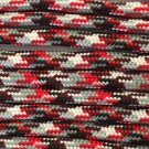 PARACORD 550 LB PARACHUTE CORD MIL SPEC TYPE III **WITH FREE BUCKLES** (RED CAMO 20FT)