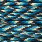 PARACORD 550 LB PARACHUTE CORD MIL SPEC TYPE III **WITH FREE BUCKLES** (BLUE SNAKE 20FT)