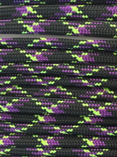 PARACORD 550 LB PARACHUTE CORD MIL SPEC TYPE III **WITH FREE BUCKLES** (UNDEAD 50FT)