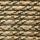 PARACORD 550 LB PARACHUTE CORD MIL SPEC TYPE III **WITH FREE BUCKLES** (DESERT CAMO 50FT)