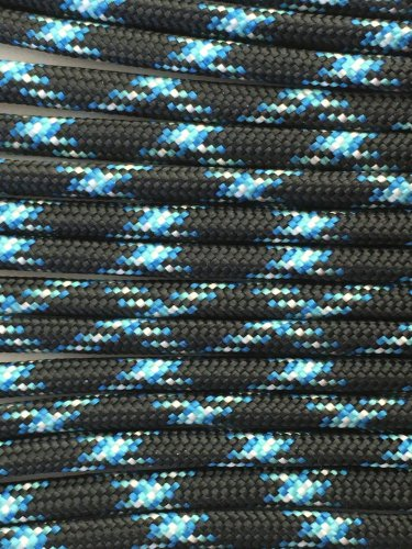 PARACORD 550 LB PARACHUTE CORD MIL SPEC TYPE III **WITH FREE BUCKLES** (LIGHTNING 50FT)