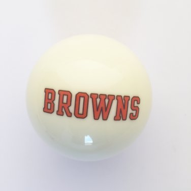CLEVELAND BROWNS shift knob (white)