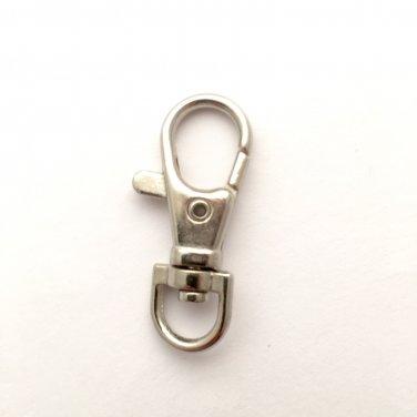 5 - Silver Snap Hooks