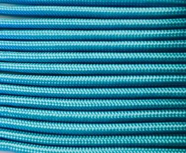 PARACORD 550 LB PARACHUTE CORD MIL SPEC TYPE III (CAROLINA BLUE 1FT)