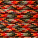 PARACORD 550 LB PARACHUTE CORD MIL SPEC TYPE III **WITH FREE BUCKLES** (LAVA 5FT)