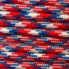 PARACORD 550 LB PARACHUTE CORD MIL SPEC TYPE III **WITH FREE BUCKLES** (LIBERTY 1FT)