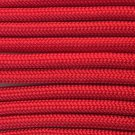 PARACORD 550 LB PARACHUTE CORD MIL SPEC TYPE III **WITH FREE BUCKLES** (RED 5FT)