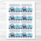 Pirate Monkey Nautical Whale Printable Baby Shower Book Request Cards #A287